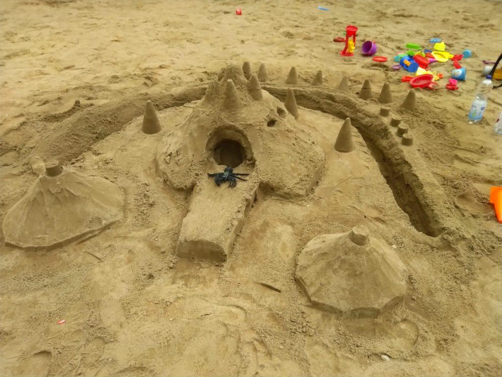 Sandburgenbau
