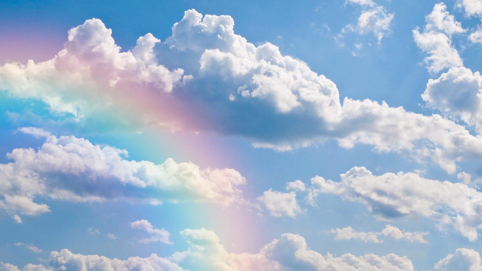 Himmel Regenbogen
